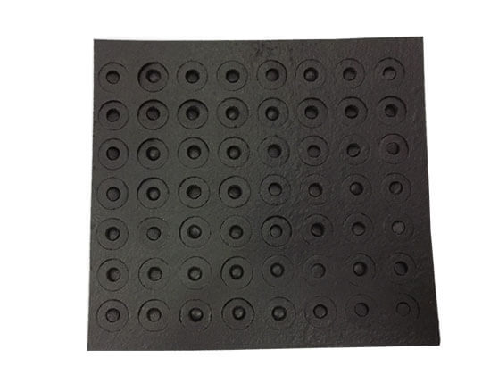 Closed Cell PVC Foam Washers With Self-adhesive Back- FOAMTECH