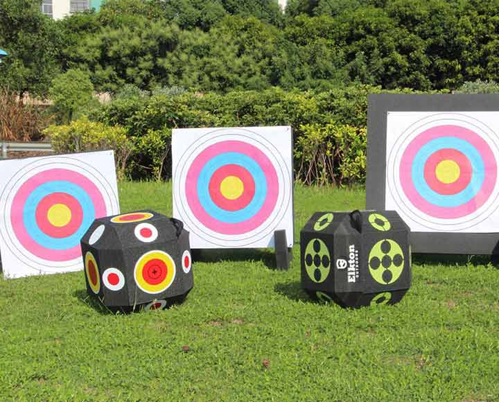 color printed archery target foam blocks