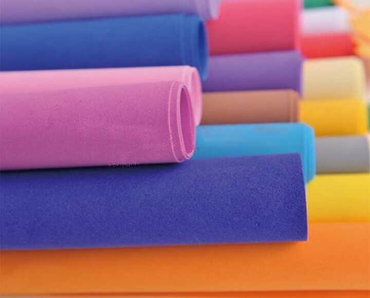 color craft foam rolls