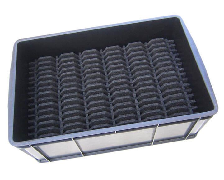 custom foam protective packaging for returnable packaging