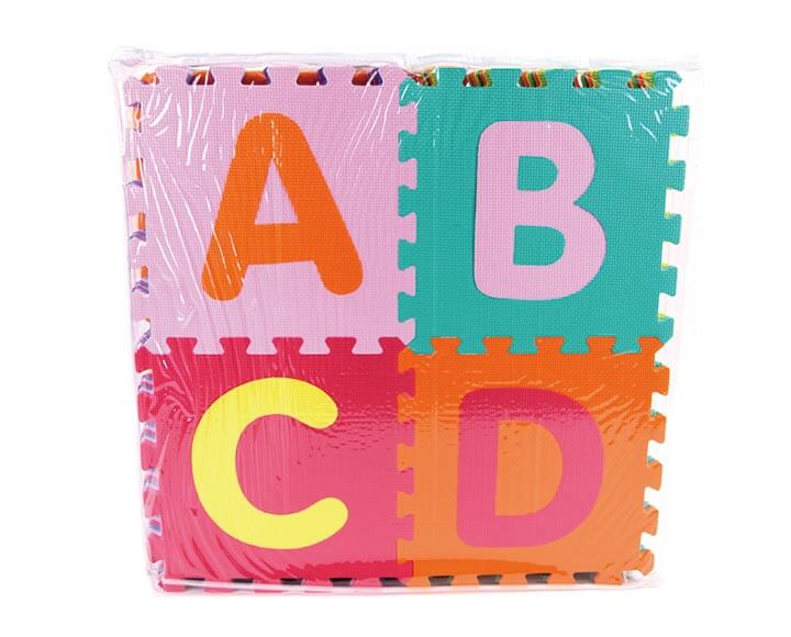 alphabet foam kids play mats