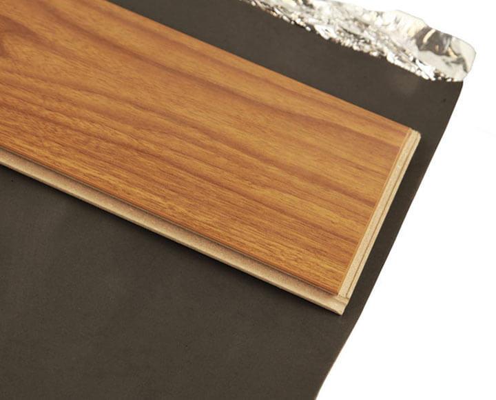 black silver vapor barrier underlayment for wood flooring
