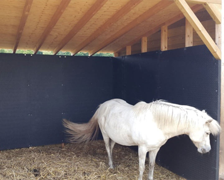 horse stable used horse stall wall mat