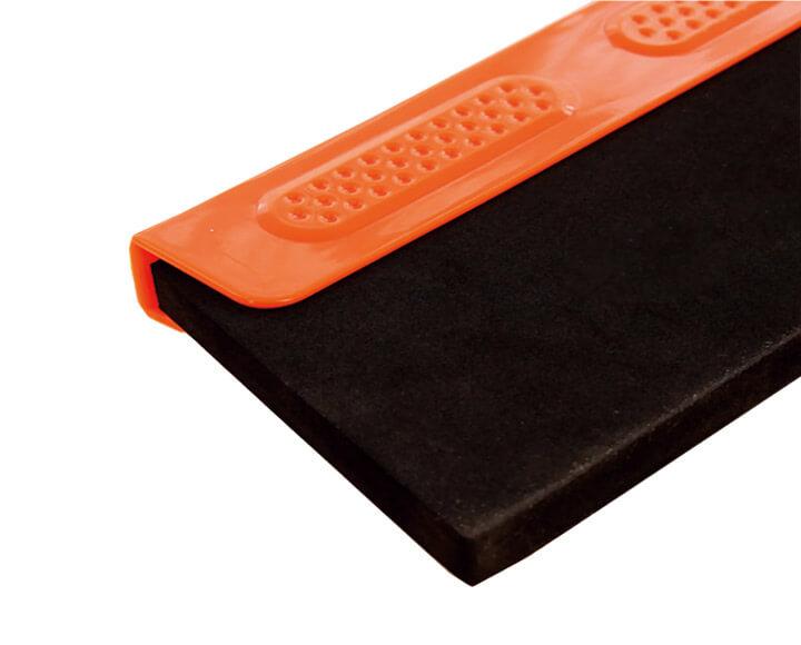 black neoprene rubber squeegee blades