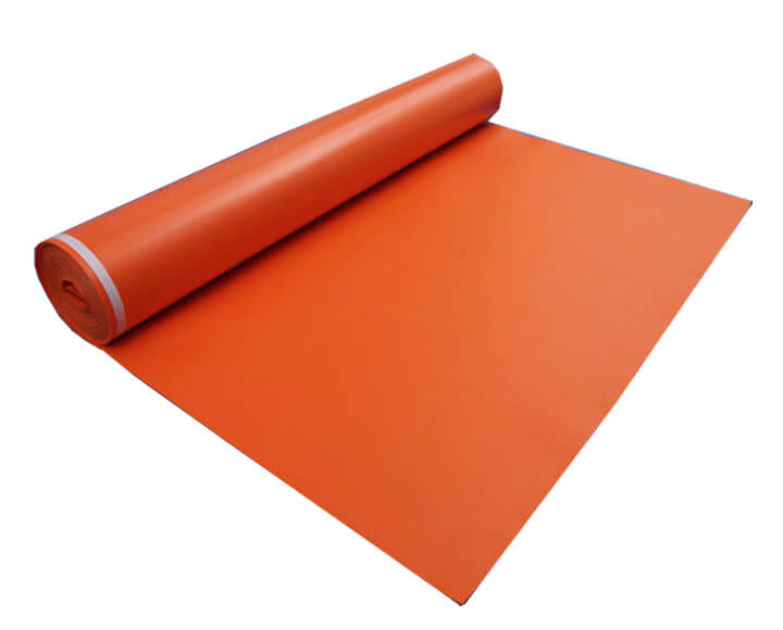 orange highly insulation acoustic underlay
