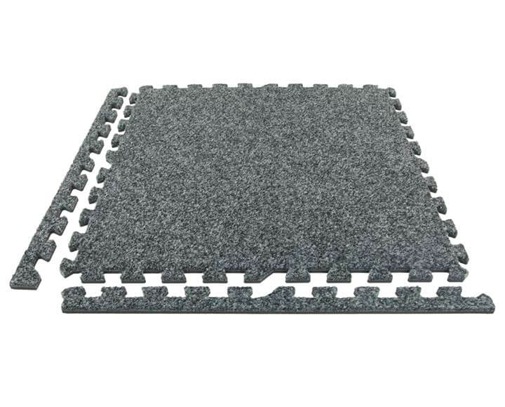 carpet foam tile with removable strips