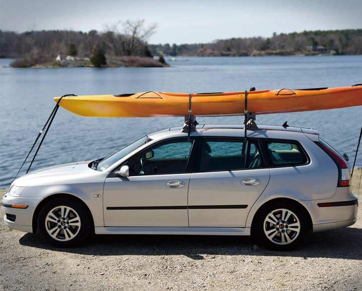 kayak carrier kits used on car top