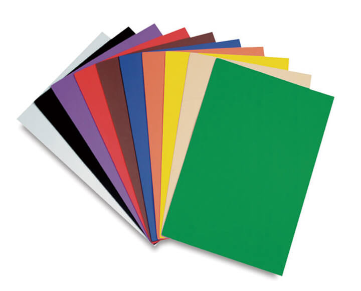 colorful craft foam sheets