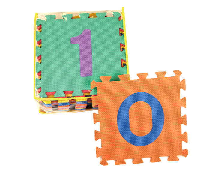 Kids Play Mats With Numbers