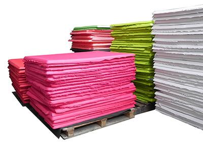 color eva foam materials sheets