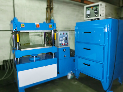 foam thermoforming molding fabrication machine