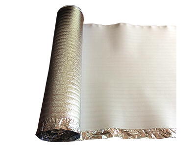 foam lamination for foam underlay with foil film