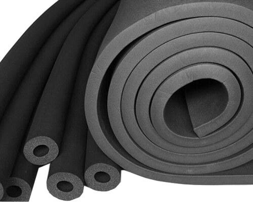 Flexible Vinyl Nitrile Foam Sheet and Tubes
