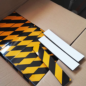 garage-wall-protector-with-reflective-warning-tape
