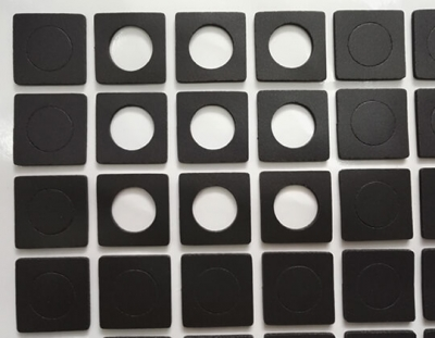 custom soft closed cell PVC foam gaskets