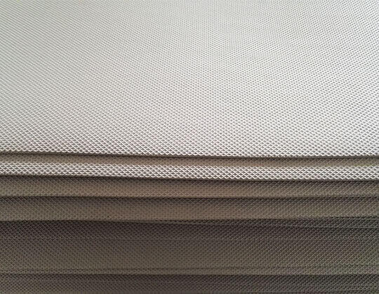 Embossed EVA Foam Sheet Materials In Stack