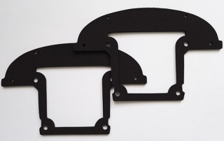 custom die cut neoprene foam gaskets for industrial sealing