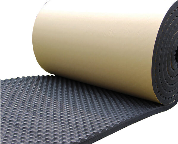 Soundproof Egg Crate Convoluted NBR Foam Roll