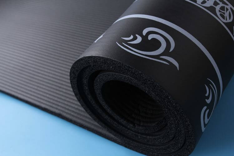 Custom NBR Yoga Mat with Printing