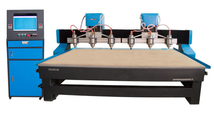 CNC contouring cutter for EVA foam packaging