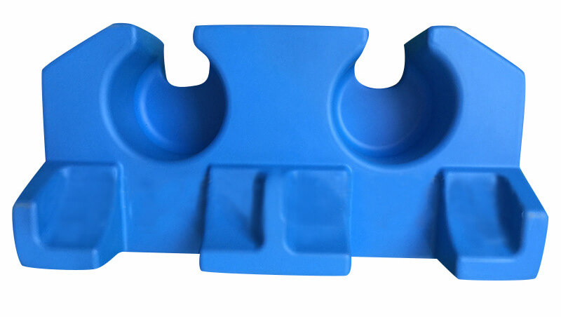Custom EVA foam parts by injection molding
