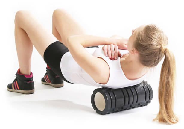 EVA foam roller usage