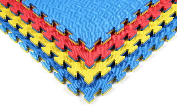 Anti-slip tatami foam mats for martial arts use