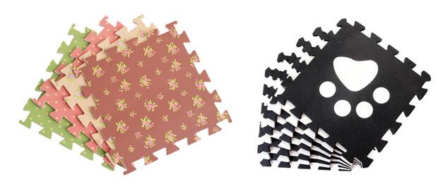 Custom interlocking EVA foam puzzle mats