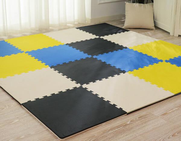 EVA foam puzzle mats for home flooring