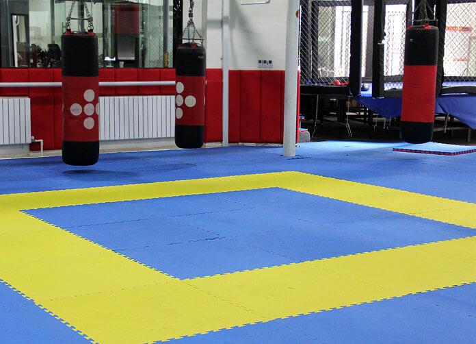 Taekwondo studio EVA tatami foam mats