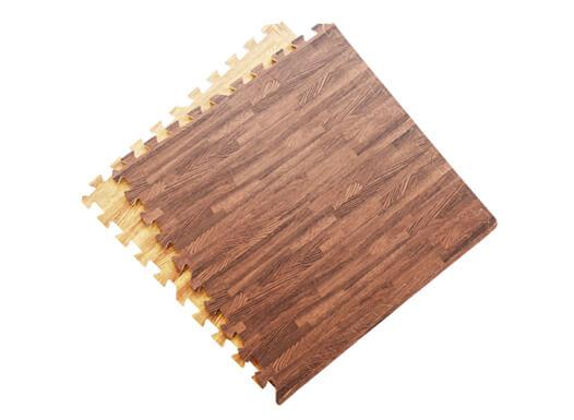 Household wood grain foam mats