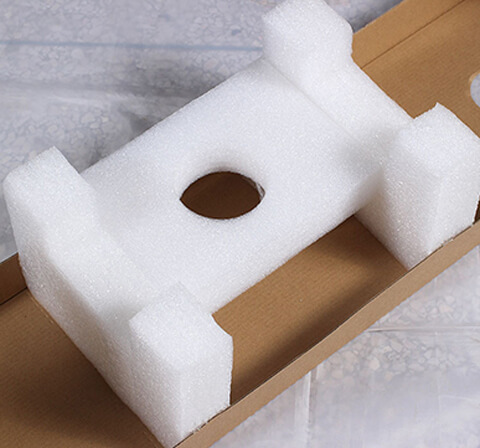 Expanded PE Foam Insert With Excellent Shock Abosorption
