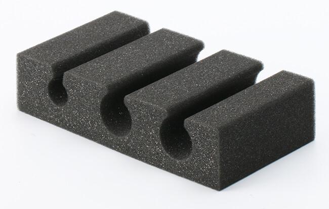 custom cut polyurethane foam insert